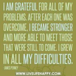gratefulforproblems
